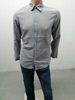 Camicia CALVIN KLEIN Uomo Taglia Size M Shirt Man Chemise Homme P 6408