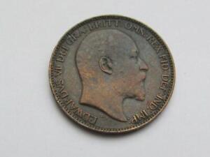 Edward VII Farthing 1910 - Good collectable coin