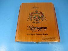 Classic Hemingway Cigar Box Reserva Especial Wood Grains A. Fuente Dominican VS2