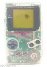 ►GAME BOY TRANSPARENTE CRISTAL de NINTENDO GB GAMEBOY DMG-01 crystal transparent