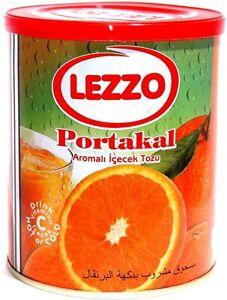 ✅ Orange Tea instant Lezzo Turkish tea hot cold Orange drink 700g net ✅