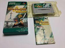 The Legend of Zelda: Gods of the Triforce Nintendo Super Famicom Japan 8754