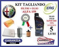KIT TAGLIANDO FILTRI + OLIO ALFA 159 1.9 JTDM 8V 85KW 115CV 2005 IN POI