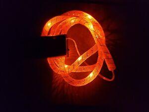🎃 Light Up LED Halloween Battery-Powered Mesh Light - Orange