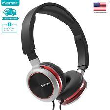 Overtime Wired Stereo Headphones Over-Ear Headphones...