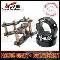 "For Toyota Hilux Vigo Lift Kit Front 35MM Coil Spacer 2"" Rear Shackle KUN26 05+"