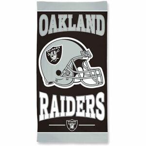 "NFL Oakland Raiders 30"" x 60"" Beach Towel"