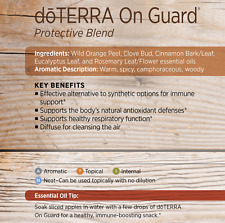doTERRA On Guard 5mlx2 Therapeutic Pure Essential Oil Aromatherapy 70%25OFF Sale
