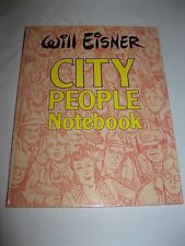 Will Eisner signed autographed City People Notebook hard cover book #92 of 1500
