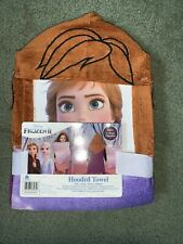 NWT Disney Anna Hooded Towel