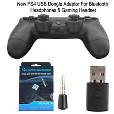 4.0 Dongle Wireless Adapter USB 2.0 Bluetooth for PS4 PlayStation Gaming Headset