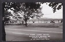 Circa 1950 Real Photo RPPC Postcard Park Lane Motel BURLINGTON Ontario Canada