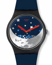 """SWATCH NEW GENT SPECIAL """"MOON NIGHT / Chinese Moon Festival 2016"""" (SUOZ236) NEU"""