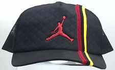 "Air Jordan ""Trucker"" Headwear (Black/Red/Yellow) Adjustable PO"