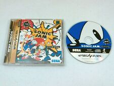 Sonic Jam Sega Saturn game Japan Import Near Complete! Us Seller Nice Disc