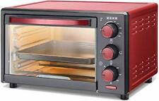 Oven 1200 W Cooking Appliances Maroon 16 Liter 3 Mode Rust Proof Tempered Glass