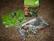 LEGO MINECRAFT Micro World Set #21102 480 Pcs. Exc Cond 100% Complete