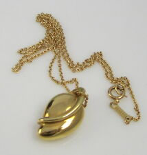 Tiffany & Co Gorgeous Vintage 1980 Elsa Peretti 18k Yellow Gold Leaf Necklace
