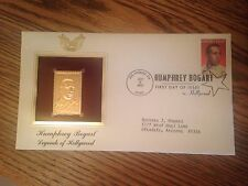 FDOI  Gold Replica Stamp Humphrey Bogart