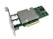 Supermicro AOC-STG-i2T 10Gigabit 10GBe BaseT Dual Port Server NIC Intel X540-T2
