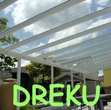 Terrassendach Pergola Überdachung Terrassenüberdachung ALU VSG Glas  4 x 4 m
