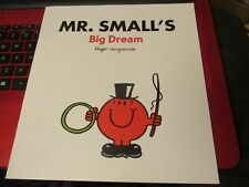 Large Size Mister Men Book MR SMALL's BIG DREAM slight damage to front cover