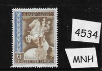 MNH Germany stamp Third Reich WWII 1942 European Postal Congress Vienna Austria