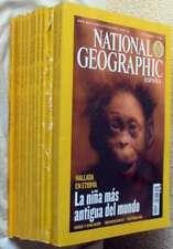 REVISTA NATIONAL GEOGRAPHIC EN ESPAÑOL - 12 EJEMPLARES AÑO 2006 COMPLETO - VER