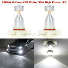 5202 H16 PS24W Cree High Power 60W White 6000k Fog/Driving Light Projector LED