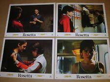 """LOT 12 PHOTOS DU FILM """"ROSETTA"""" / EMILIE DEQUENNE / 20 X 28 CMS / TRES BON ETAT"""