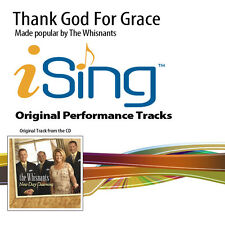 The Whisnants - Thank God For Grace - Accompaniment Track