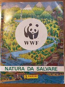 ALBUM figurine WWF NATURA DA SALVARE 1987 PANINI COMPLETO M.BUONO + CEDOLA