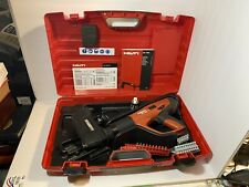 HILTI DX 460-MX 72 Powder Actuated Med/Heavy Duty Fastener w/Case & Accessories