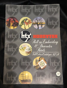 Vintage 1980's Hobbytex Colour Catalogue 82A  full colour-great reference guide