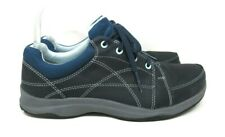 AHNU Women's Shoes Ankle Lace Hiking Walking Closed Toes Active BLUE F19615G 8.5