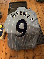 Manchester City Match Worn Player Issue Football Shirt Mpenza