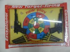 pistole a ventosa NEW TARGET FIRING ditta ALTER MILANO made in Italy anni 70