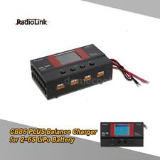 RadioLink CB86 PLUS Balance Charger for RC 8Pcs 2-6S LiPo Battery Hot Sale A7E1