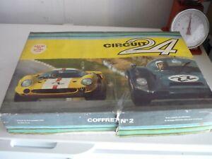 "Superbe circuit 24 ""oscar du jouet 1969"" coffret n° 2."