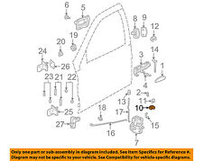 Saturn GM OEM 02-07 Vue Front Door-Lock Cylinder 15841203