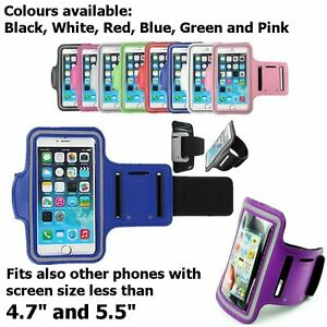 Sport Arm Armband Running Jogging Case holder for iPhone 8 X 11 12 Xs Max