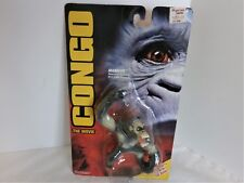 1995 Congo The Movie Mangler Action Figure New On Sealed Card Kenner