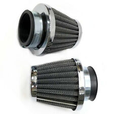2X 48MM AIR FILTER Cleaner For Yamaha DT250 DT250MX XS250 XS250SE XS400 XT500