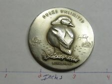 2.7 OZ BUFFLEHEAD DUCK UNLIMITED MEDALLIC ART HIGH RELIEF RARE 999 SILVER COIN