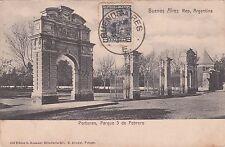 ARGENTINA - Buenos Aires - Portones, Parque 3 de Febrero 1904