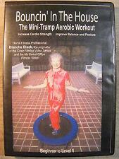 Bouncin' In The House (DVD, 2002) Mini-Trampolini Aerobic Workout