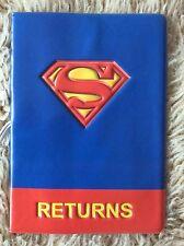 Marvel Superman Reino Unido pasaporte id de viaje de identidad cubrir titular Regalo De Navidad Usa