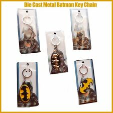 Batman Metal Key Ring Chain Super Hero The Dark Knight Halloween Gift FREE POST
