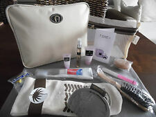 SAUDIA Business Class AIGNER Ipad Amenity Kit Bag Trousse Neceser Kulturbeutel
