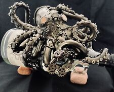 More details for steampunk kraken on kraken rum bottle (empty 70cl).